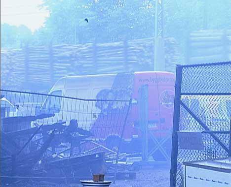 Forsikringspengene etter brannen på Dammyr er noen av pengene bostyret får ta i arrest.