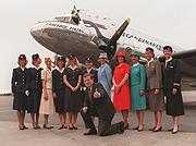 Når du reiste med SAS i 1951, fløy du kanskje med et fly som dette.