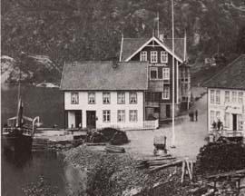 Kaianlegg ved Suldalsvatnet. Foto: NRK