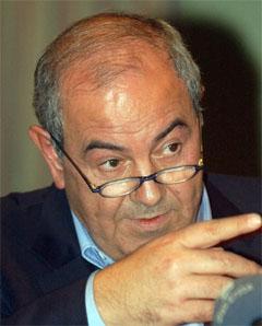 Statsminister Iyad Allawi ønsker dødsstraffen gjeninnført. (Foto: AP)
