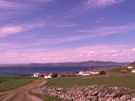 Månedens bilde juni - Senkveld fra Lista mot Hidra – Foto: Frank Robert Hagen, Flekkefjord