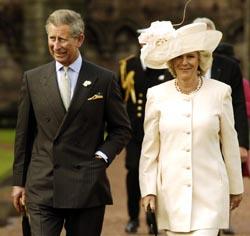 Prins Charles og Camilla Parker Bowles gifter seg 8. april. (Arkivfoto: Scanpix/AP/D. Cheskin)