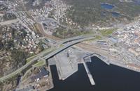 Det er flere broalternativer i Kristiansand.