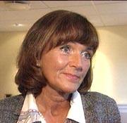 Ordfører Ulla Nævestad. Foto: NRK.