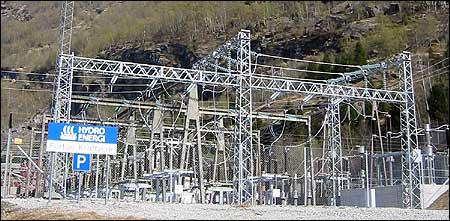 Hydro Energi driv kraftanlegget i Fortun. (Foto: Ottar Starheim, NRK)