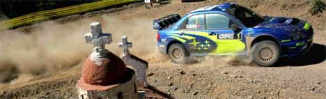 Kjøredressen hjalp Petter Solberg til seier i Rally Akropolis. ( Foto: REUTERS/Yannis Behrakis )