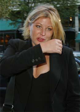 Anne-Kat. Hærland må sone 30 dager i fengsel fordi hun kjørte med promille og krasjet med to biler i fjor. Foto: Scanpix