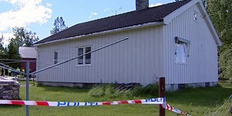 80-åringen ble funnet død i sitt hjem, nå har en kvinne innrømmet å ha drept mannen (Foto: Bjørn Anders Sørli)