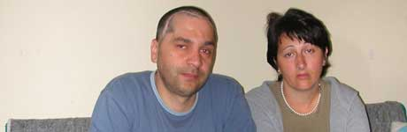 NY SJANSE: Besim og Selvije Rexhepi