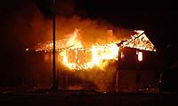 Fra brannen i Kjøllefjord 21. oktober (Foto: Jostein Pettersen)
