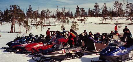 SEIER: Til vinteren kan pensjonistene i Tydal dra på ny skutertur Foto: Ingeborg Mjåland