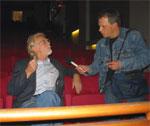 Ole Kolsrud blir intervjuet av Ola Bjørlo Strande