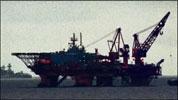 Dykkerfartøyet Regalia er basen til dykkerne.