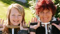 """I sommer har Brita vært å høre sammen med Ragnhild Lund i """"I farta"""". (Foto: Jon-Annar Fordal)"""