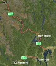 Storkontrollene blir på E134, E16 og RV7 i Hallingdal.