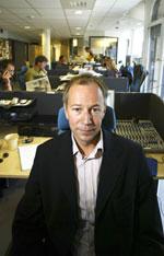 Konstituert radiosjef i Kanal 24, Jan Erik Pedersen, lover en friskere utgave av Kanal 24. Mindre Celine Dion skal det også bli - noe som muligens kan bedre lyttertallene. (Foto: Scanpix)
