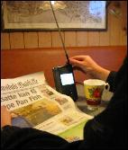 En mini-TV med bordantenne kan være alternativet for de som ikke vil betale kanal-avgift.