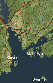 Malmøya i Larvik kommune