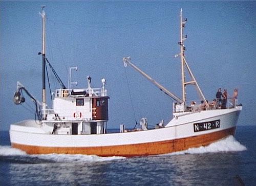 Fiskebåten Western fra Myken.