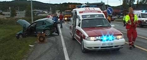En person døde i denne ulykken på E18 ved Ramstadkrysset i juni