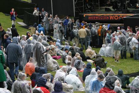 Det finnes ikke dårlig vær, bare dårlige klær. Foto: arne Kristian Gansmo, NRK.