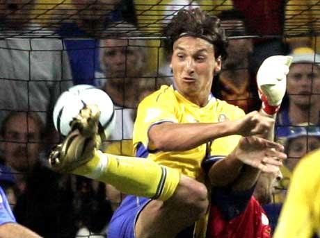 Italienerne fikk sikkert øynene opp for Zlatans kvaliteter under sommerens EM. (Foto: Scanpix)