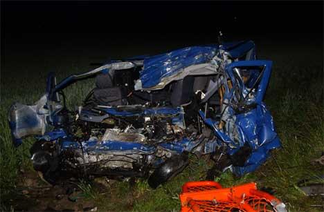 En døde da bilen han kjørte kolliderte med en trailer på Sørbysletta i Rakkestad i juni
