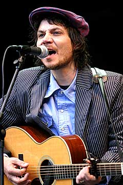 Wilco på Norwegian Wood 2004. Foto: Arne Kristian Gansmo, NRK.