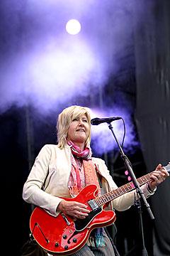 Anne Grethe Preus på Norwegian Wood 2004. Foto: Arne Kristian Gansmo, NRK.
