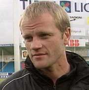 Arne Sandstø har ikke gitt opp drømmen om vider spill i UEFA-cupen.