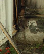 Naboen klarte å slukke. Foto: Knut Brendhagen.