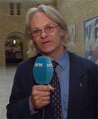 Lars Helge Rasch i sving på Stortinget