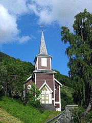 Rand kirke i Stryn Foto: Ragnhild Sleire Øyen, NRK