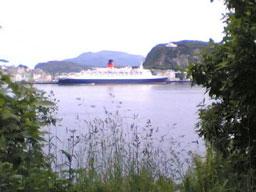 "Valdtekta skal ha skjedd då ""Queen Elisabeth 2"" låg ved kai i Ålesund."
