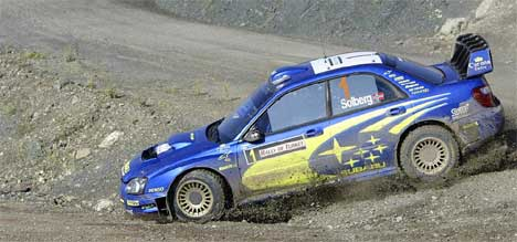 Petter Solberg tok en tredjeplass i Rally Tyrkia i fjor. (Foto:Håkon Mosvold Larsen / SCANPIX)