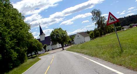 Riksvei 22 er en av mange riksveier i Østfold som kunne trengt en oppussing. ( Arkivfoto: Rainer Prang, NRK )