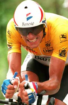 Miguel Indurain vant fem år på rad. (Foto: AFP/Scanpix)