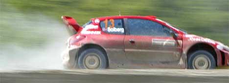 Henning Solberg i rally Tyrkia 2004 Foto:Håkon Mosvold Larsen / SCANPIX