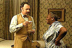 Tom Hanks er ingen smågutt, mener Ivar Winther. Foto: Filmweb