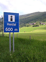 Heidal er ei bygd øverst i Gudbrandsdalen med omlag 1600 innbyggere. Foto: Guri Norstrøm, NRK