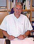Sykehusdirektør Erik Kreyberg Normann. (Arkivfoto)
