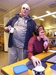 Geir Hovig og Ida Kvissel. Foto: Sigmund Krøvel-Velle, Hallingdølen
