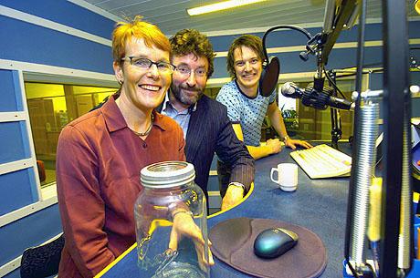 Fra venstre: Ida Kvissel, Bjørn Johan Jacobsen og Arild Opheim. Foto: Sigmund Krøvel-Velle, Hallingdølen