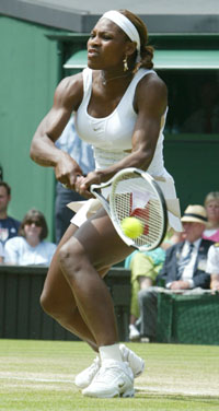 Serena Williams (Foto: Dave Culkin AP)