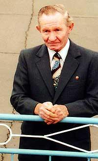 DESERTØR: Charles Robert Jenkins deserterte fra en amerikansk militærpost i Sør-Korea i 1965. (Arkivfoto: AP/Den japanske regjeringen)