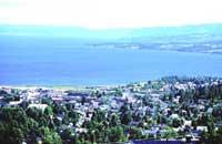 Gjøvik er et av regionsentrene det kretses omkring i kommunestrukturprosjektet.