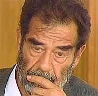 - Det kan koste Saddam Hussein livet (Foto: SBS/EBU)