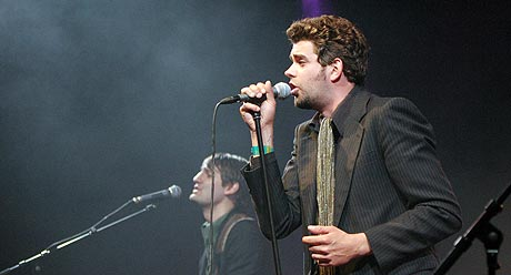 Trond Andreassen og Ricochets tok Roskilde 2004 med storm! Foto: Jørn Gjersøe, nrk.no/musikk.