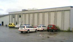 Ulukka skjedde her ved Hauge og Furnes Fiskeindustri i Giske. Foto: Alf-Jørgen Tyssing.