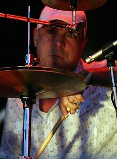 Trommis i Pixies David Lovering. Foto: Jørn Gjersøe, nrk.no/musikk.